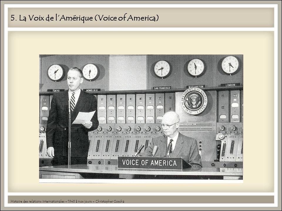 5. La Voix de l'Amérique (Voice of America)