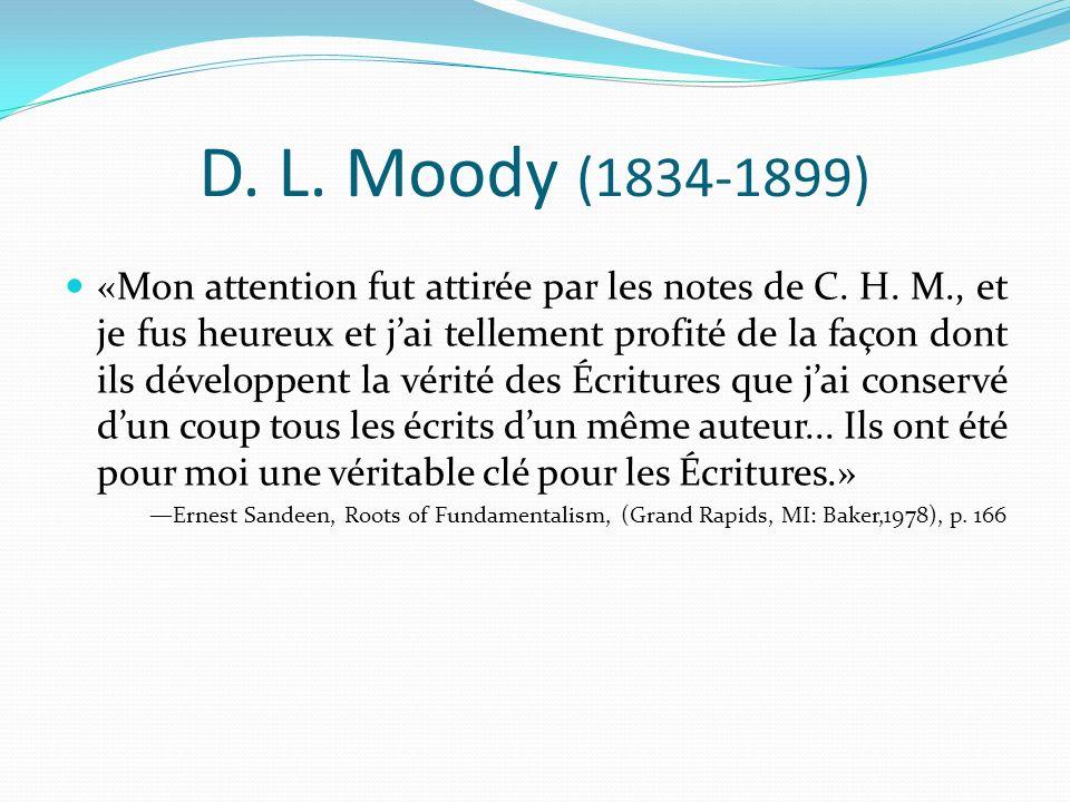 D. L. Moody (1834-1899)
