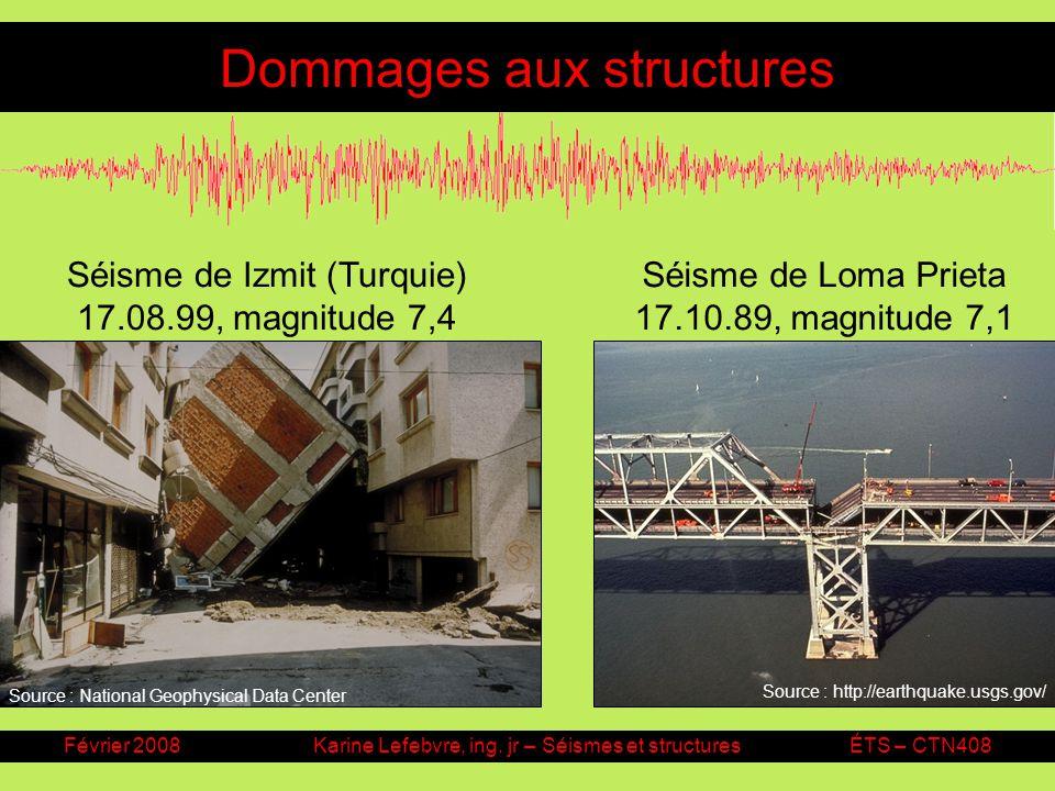 Dommages aux structures