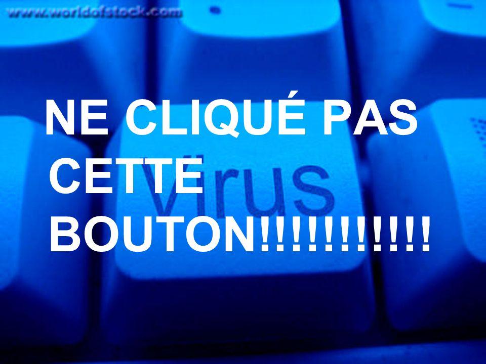 NE CLIQUÉ PAS CETTE BOUTON!!!!!!!!!!!