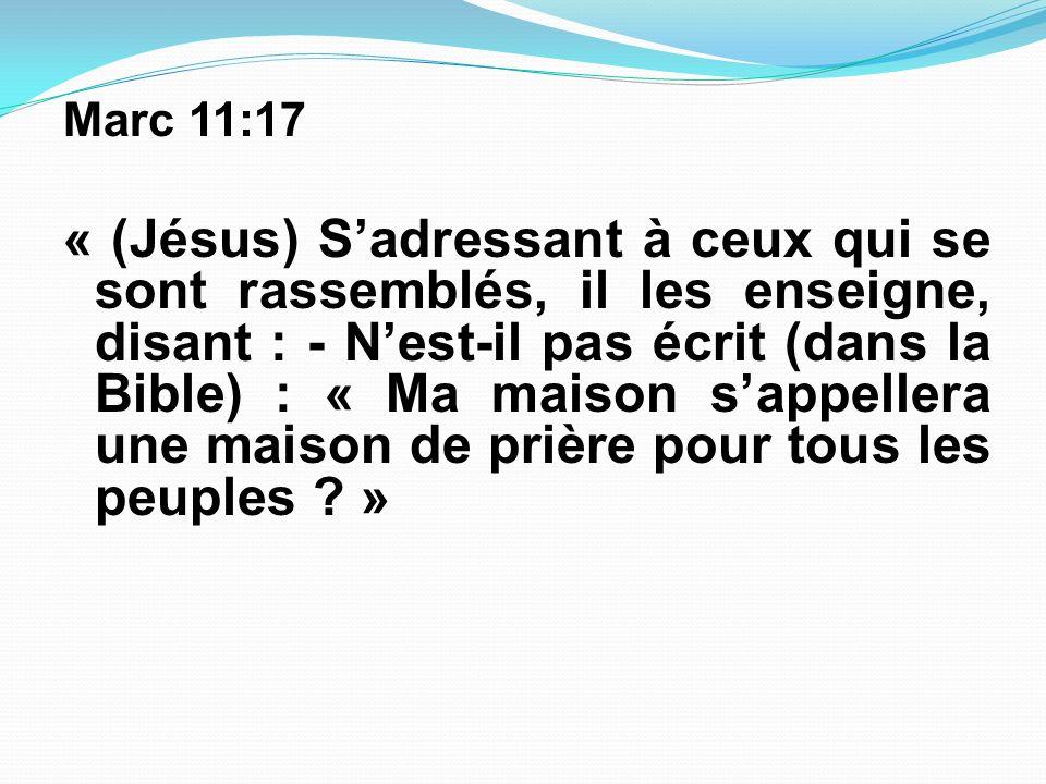 Marc 11:17