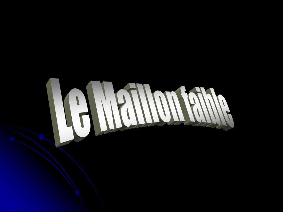 Le Maillon faible
