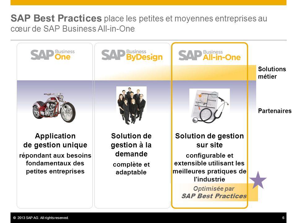 SAP Best Practices place les petites et moyennes entreprises au cœur de SAP Business All-in-One