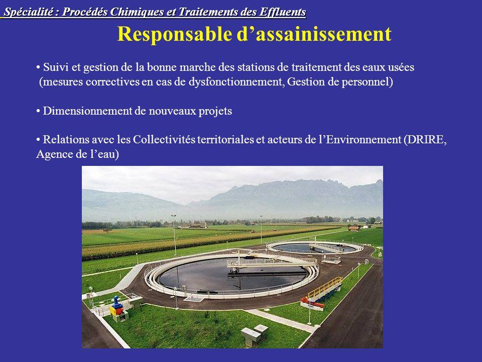 Responsable d'assainissement