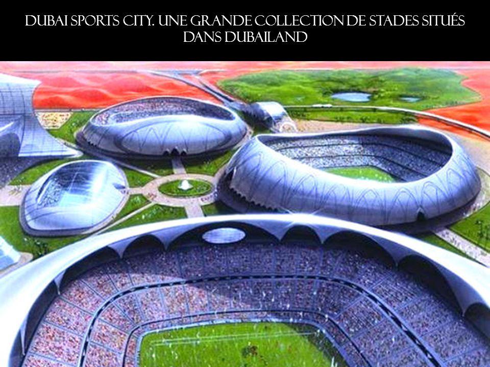 Dubai Sports City. Une grande collection de stades situés dans Dubailand