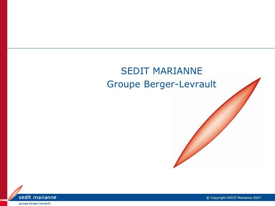 SEDIT MARIANNE Groupe Berger-Levrault