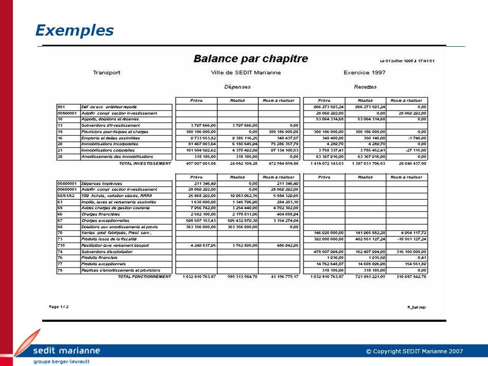 Exemples IBM Confidential
