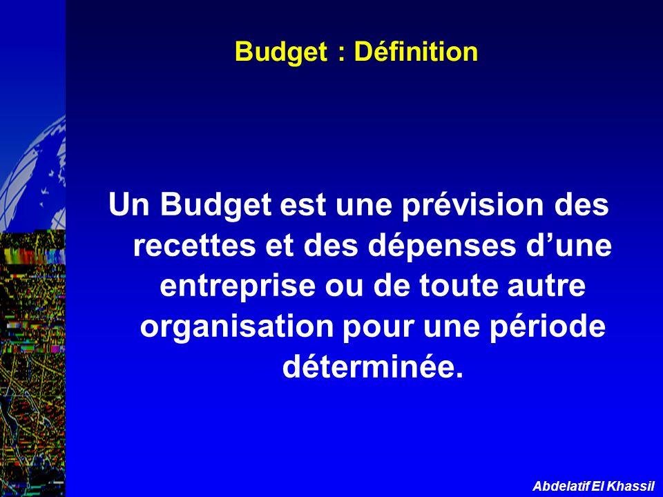 Budget : Définition