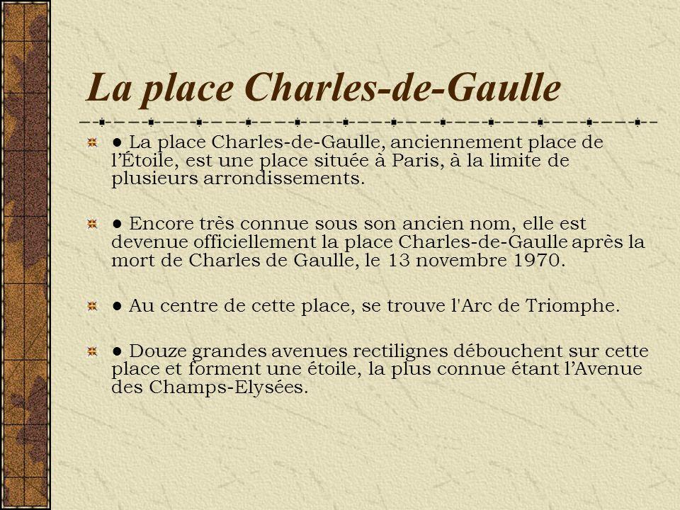 La place Charles-de-Gaulle