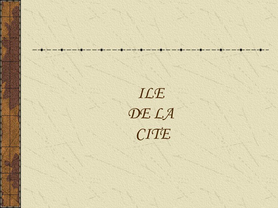 ILE DE LA CITE