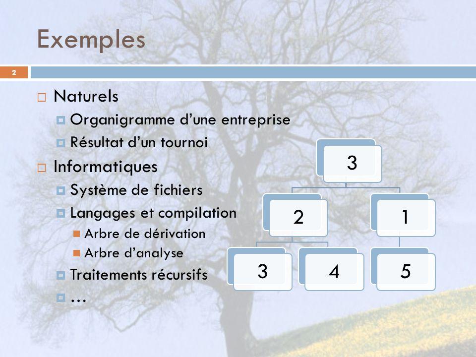 Exemples 3 2 4 1 5 Naturels Informatiques
