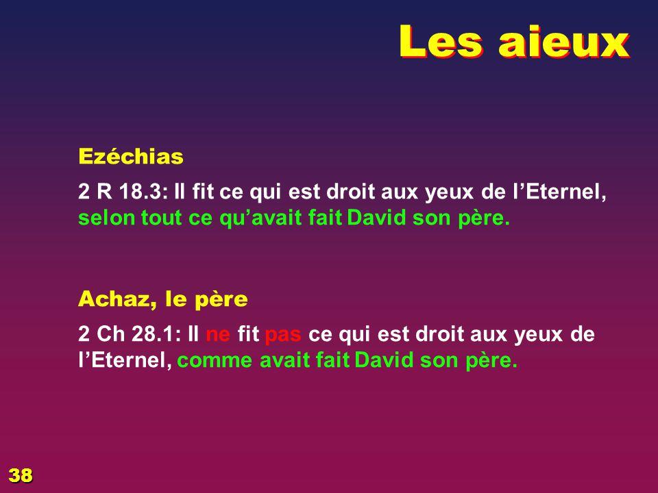 EZECHIAS: D - L HOMME Les aieux. 02/04/2017. Ezéchias.