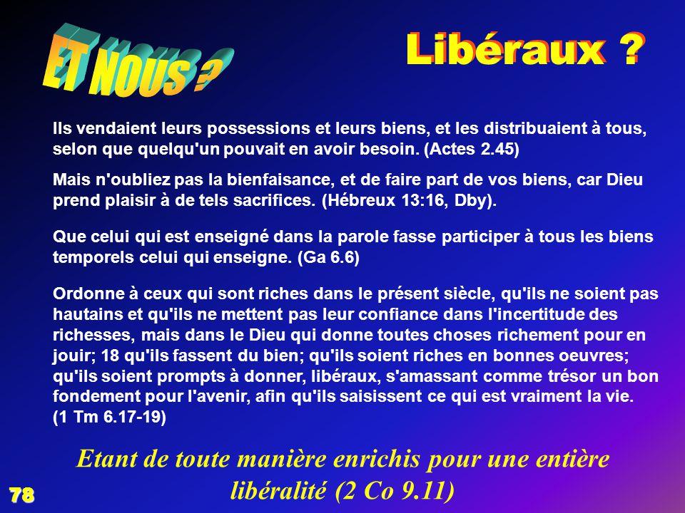 EZECHIAS: D - L HOMME 02/04/2017. Libéraux ET NOUS