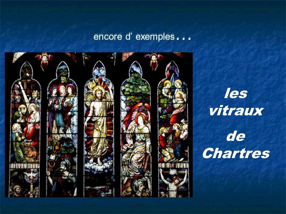 les vitraux de Chartres
