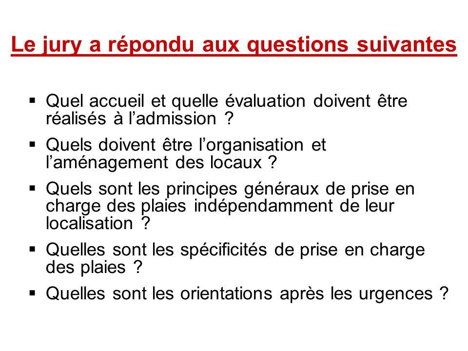 Le jury a répondu aux questions suivantes