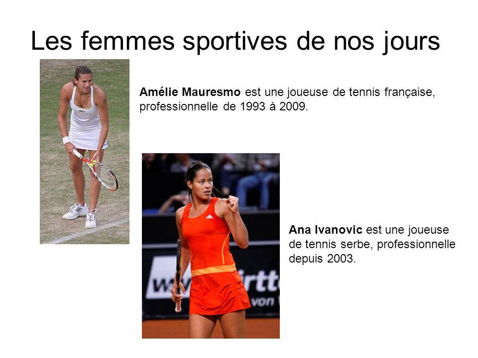 Les femmes sportives de nos jours