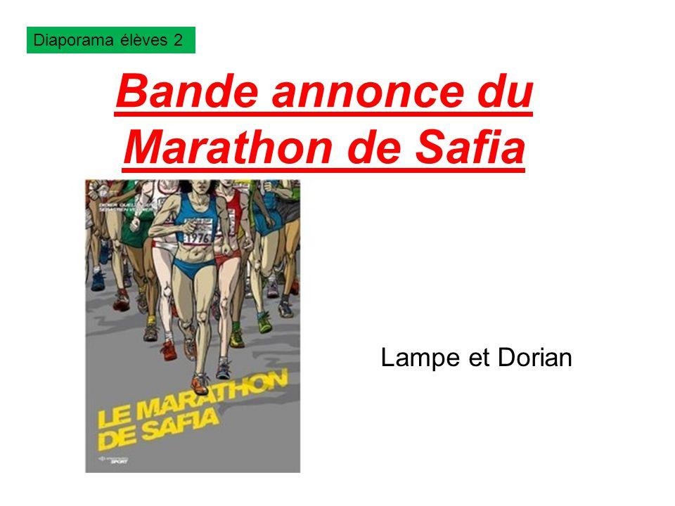 Bande annonce du Marathon de Safia