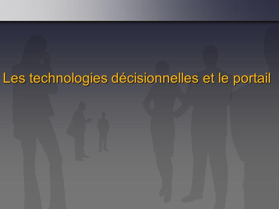 Les technologies décisionnelles et le portail