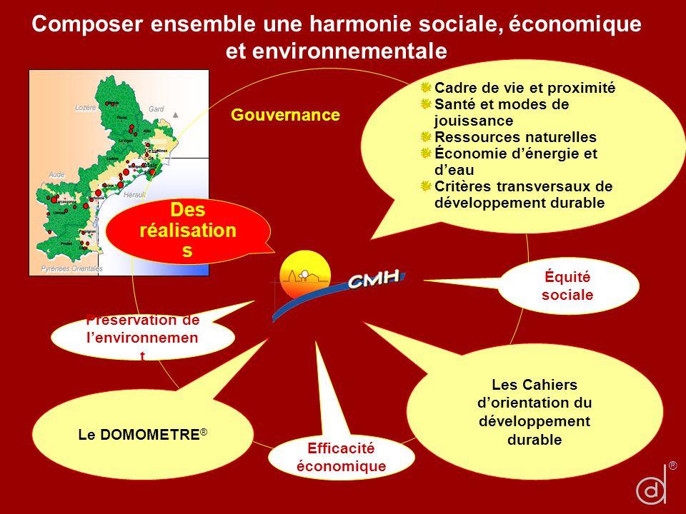 Composer ensemble une harmonie sociale, économique et environnementale
