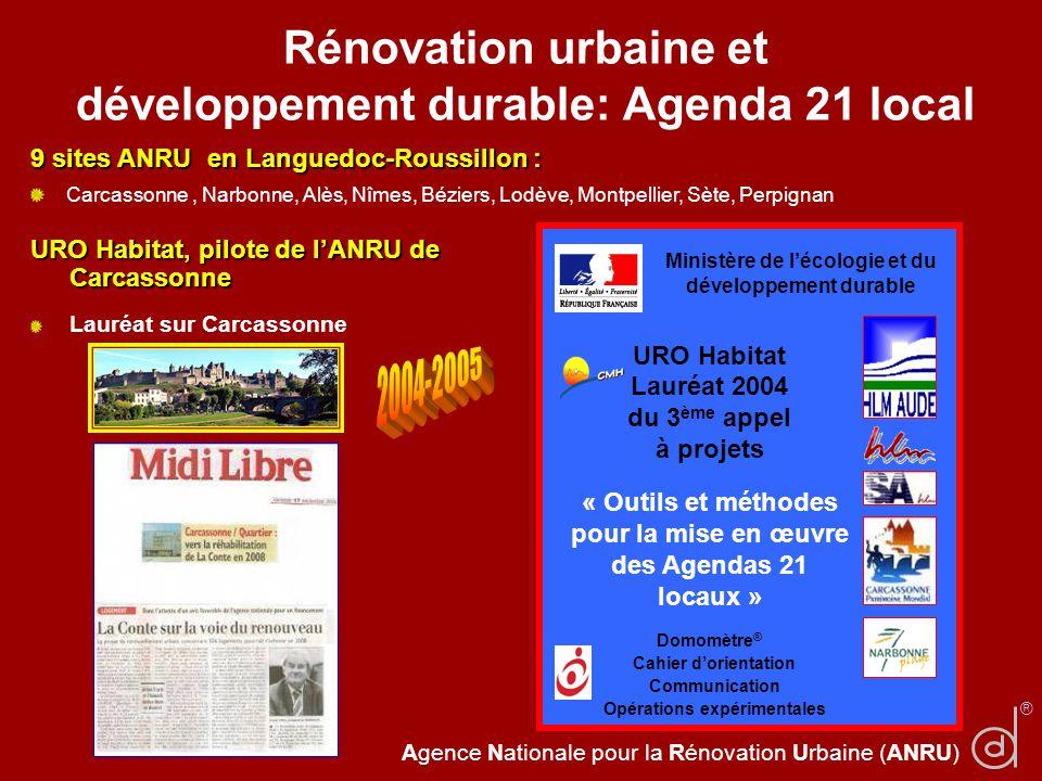 Rénovation urbaine et développement durable: Agenda 21 local