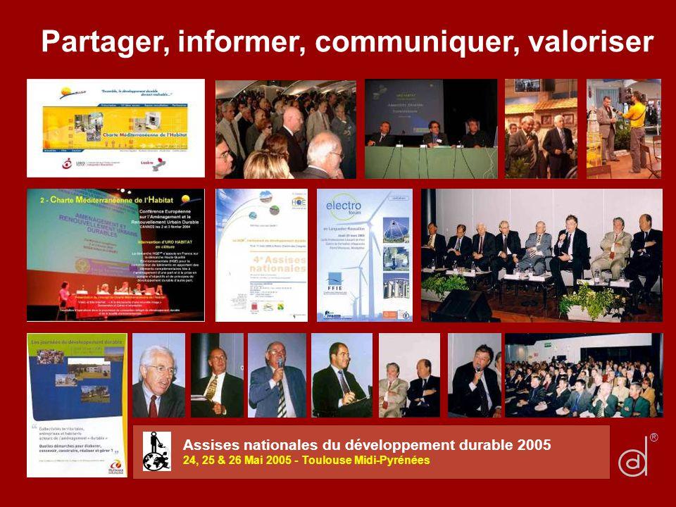 Partager, informer, communiquer, valoriser