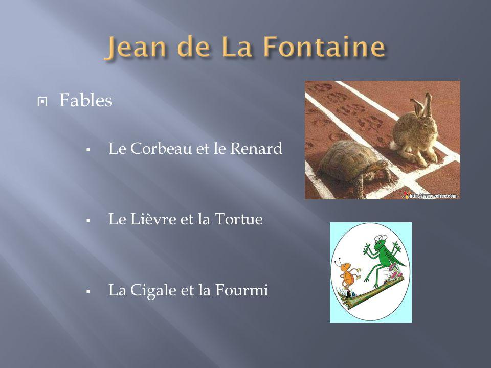 Jean de La Fontaine Fables Le Corbeau et le Renard