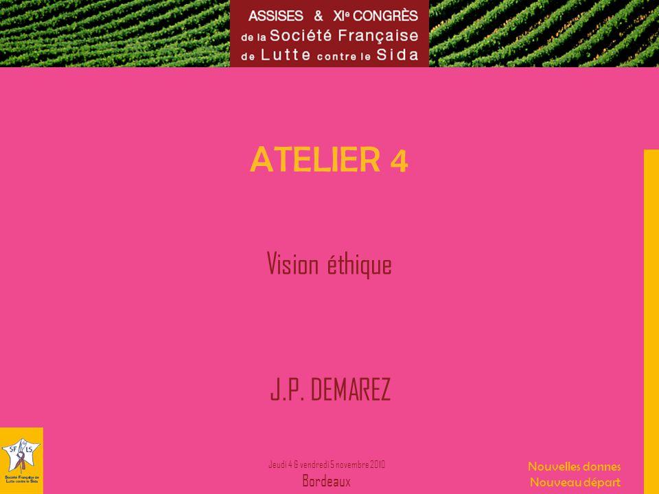 Vision éthique J.P. DEMAREZ