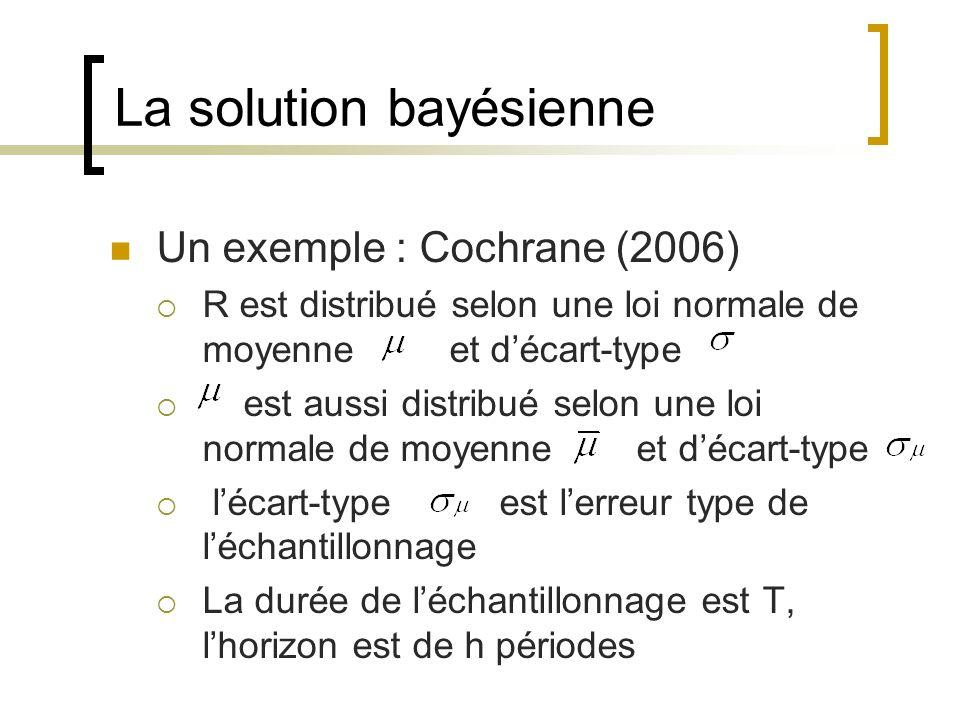 La solution bayésienne