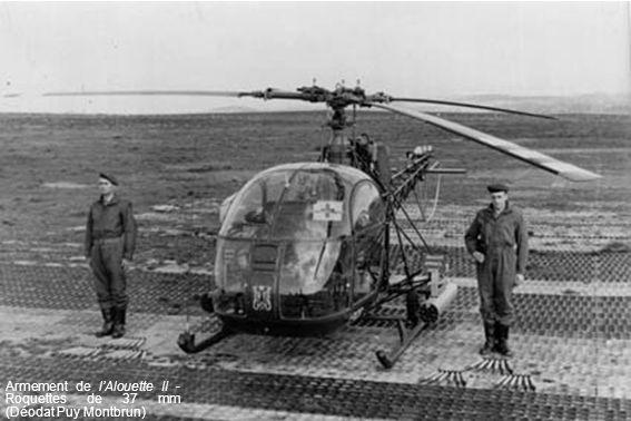 Armement de l'Alouette II - Roquettes de 37 mm (Déodat Puy Montbrun)