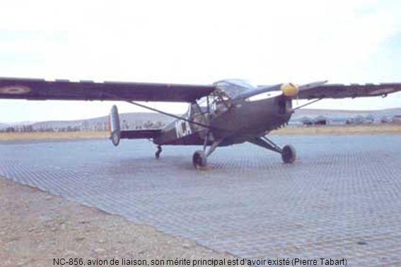NC-856, avion de liaison, son mérite principal est d'avoir existé (Pierre Tabart)