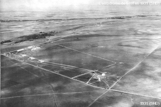 L'aérodrome de Sétif en 1931 (SHD)