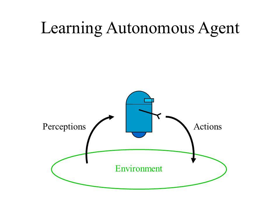 Learning Autonomous Agent