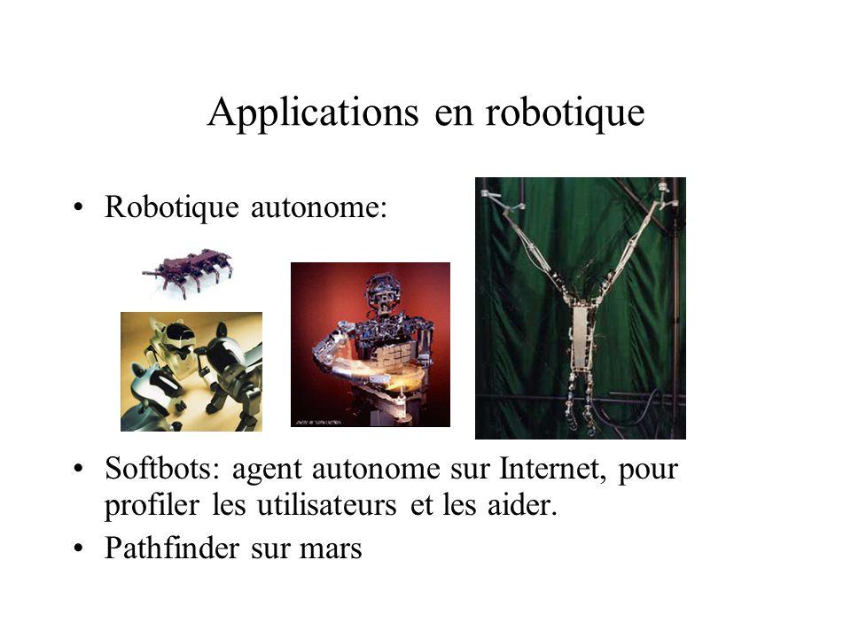 Applications en robotique