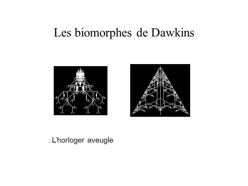 Les biomorphes de Dawkins