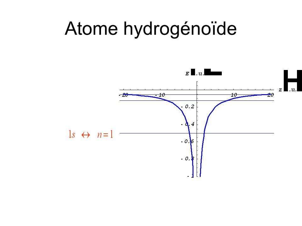 Atome hydrogénoïde