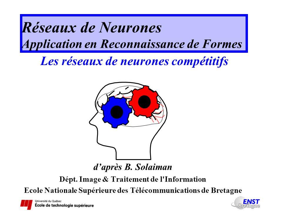 Réseaux de Neurones Application en Reconnaissance de Formes