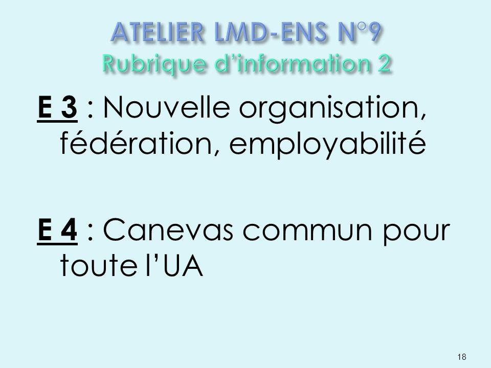 ATELIER LMD-ENS N°9 Rubrique d'information 2