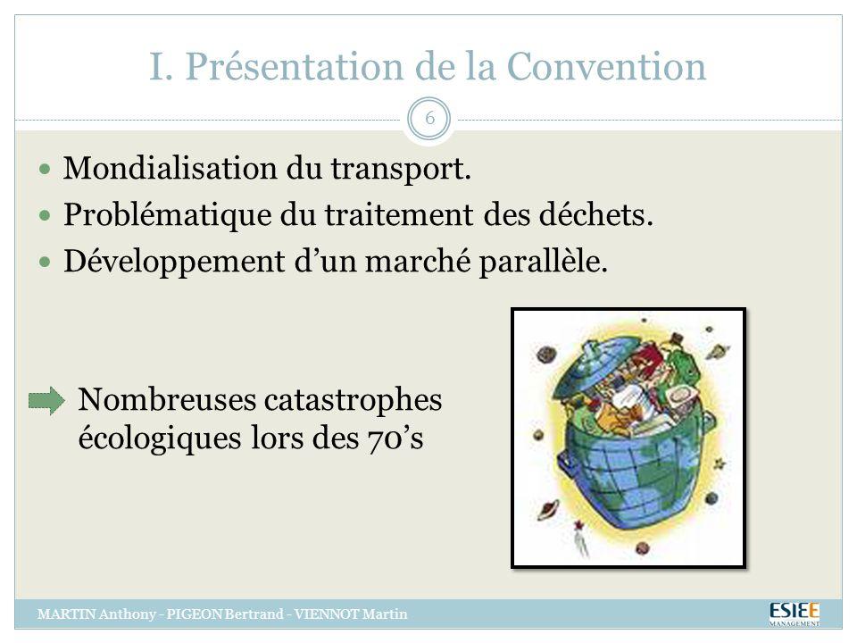 I. Présentation de la Convention