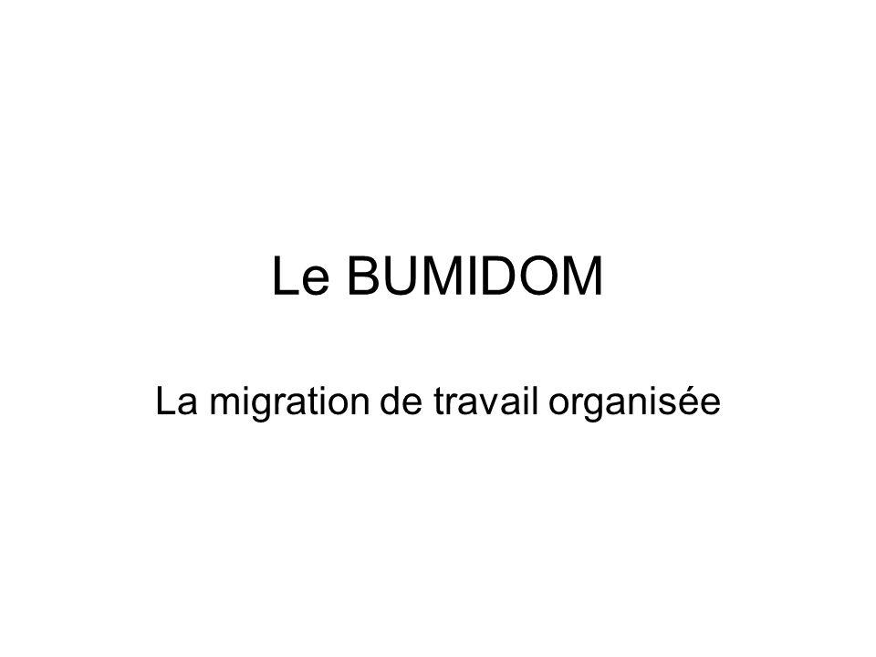 La migration de travail organisée