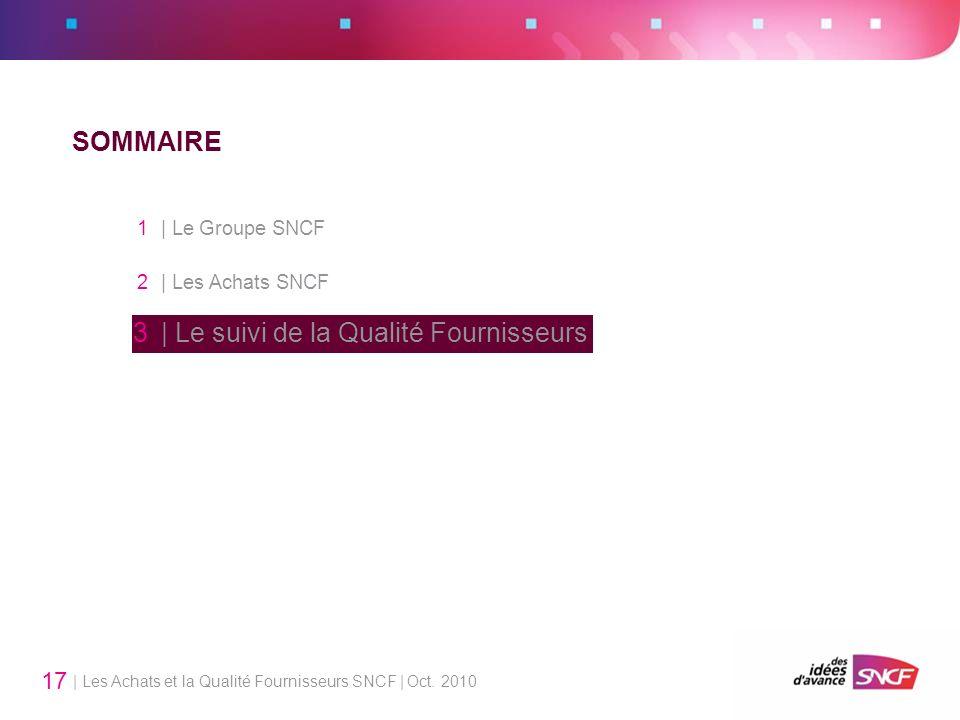 1 | Le Groupe SNCF SOMMAIRE 2 | Les Achats SNCF