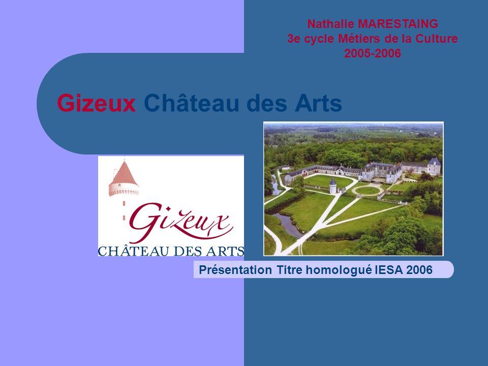 Gizeux Château des Arts