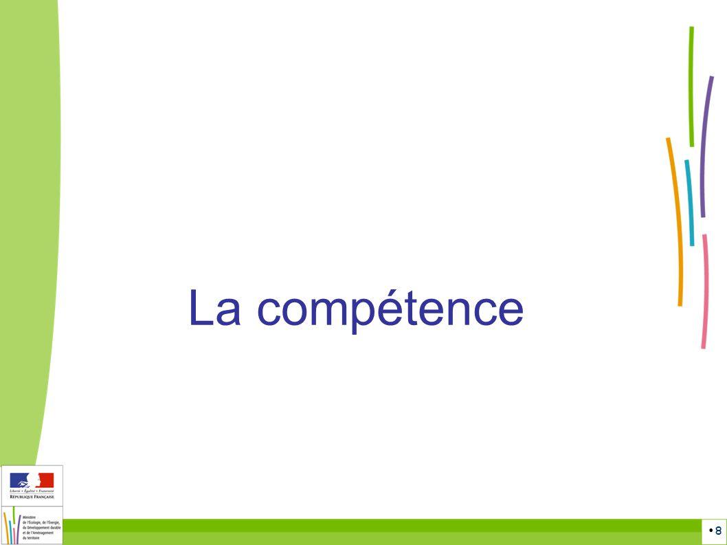 La compétence Espace réservé à la prise de Note : 8