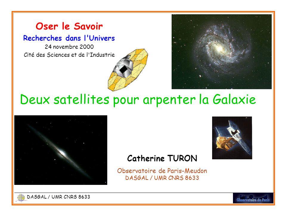 Deux satellites pour arpenter la Galaxie