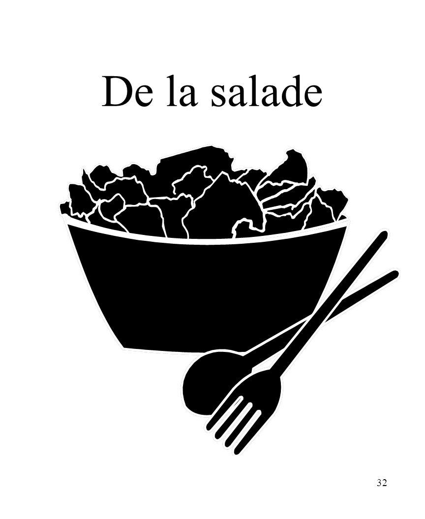 CHAPITRE 8 LES ALIMENTS 3/25/2017 De la salade Madame Craven