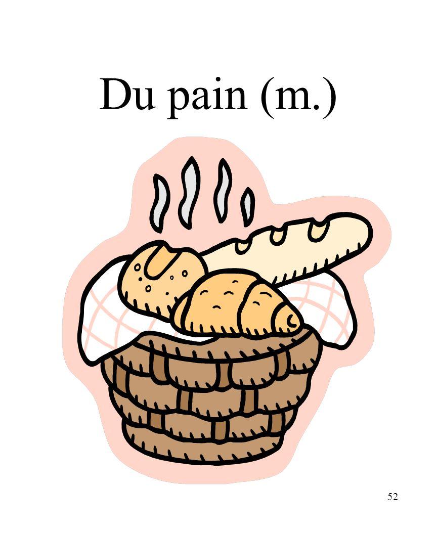 CHAPITRE 8 LES ALIMENTS 3/25/2017 Du pain (m.) Madame Craven