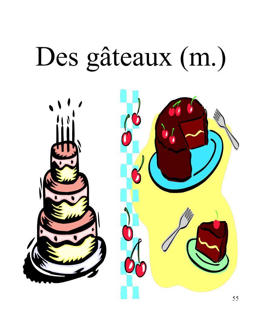 CHAPITRE 8 LES ALIMENTS 3/25/2017 Des gâteaux (m.) Madame Craven