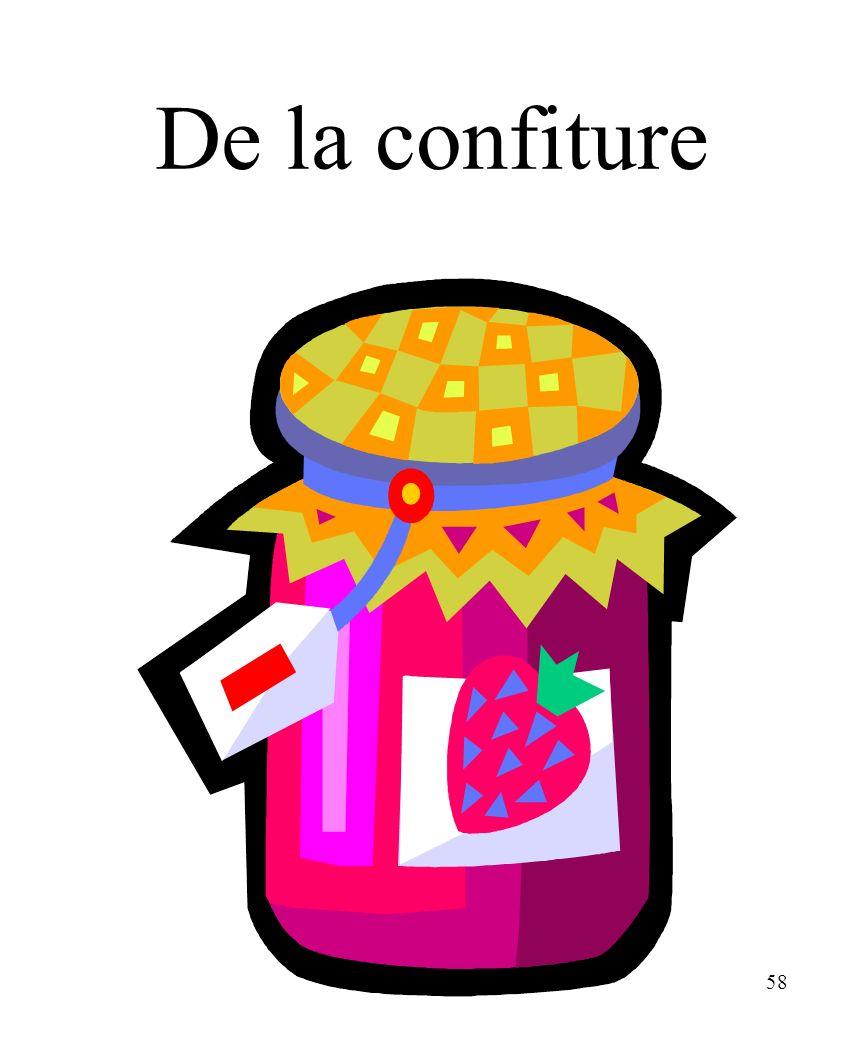 CHAPITRE 8 LES ALIMENTS 3/25/2017 De la confiture Madame Craven