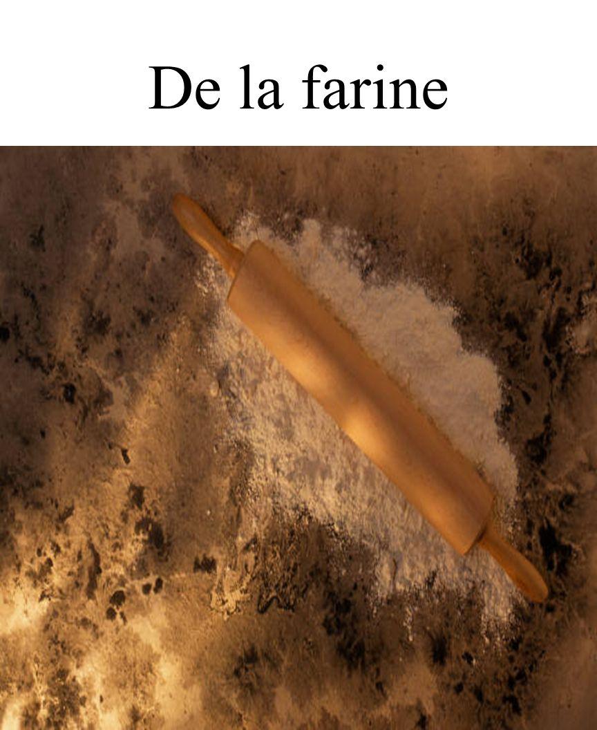 CHAPITRE 8 LES ALIMENTS 3/25/2017 De la farine Madame Craven