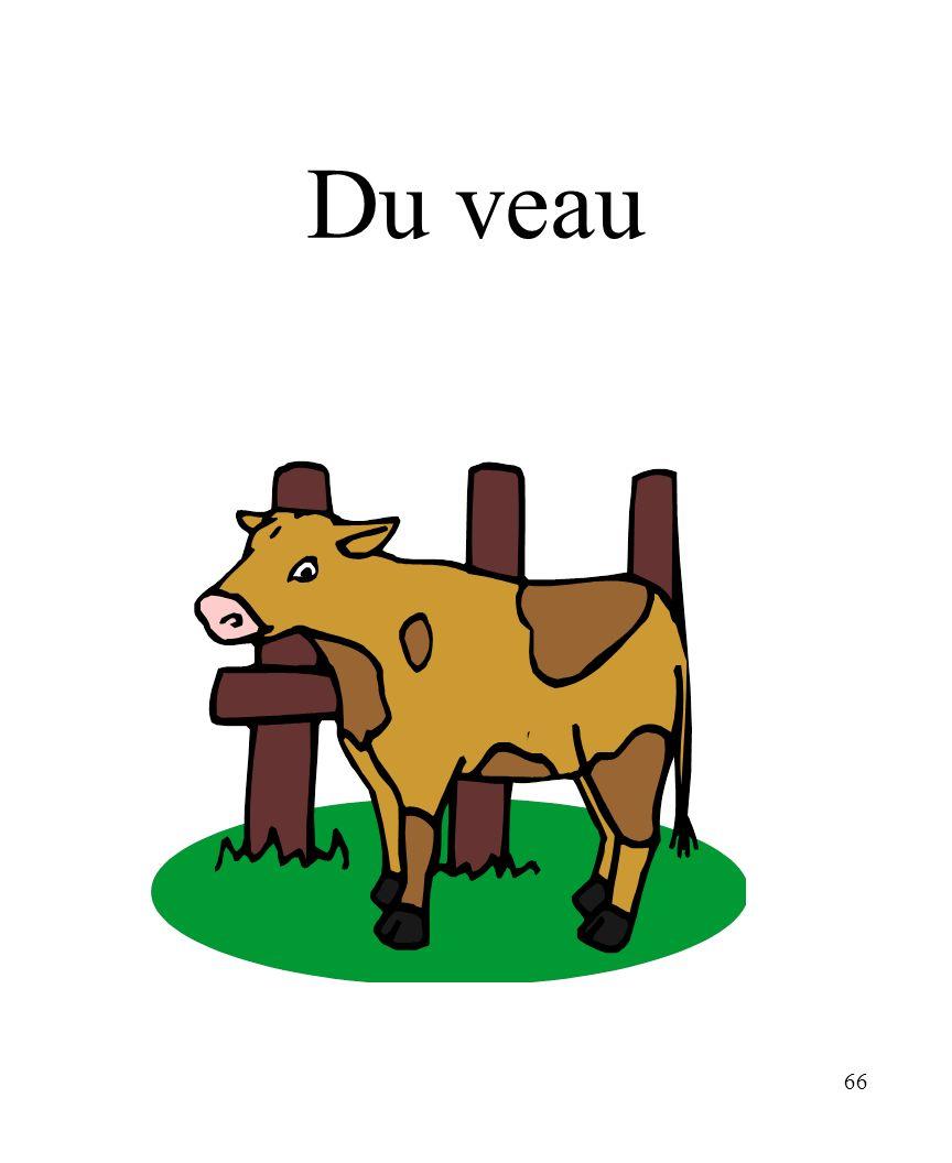 CHAPITRE 8 LES ALIMENTS 3/25/2017 Du veau Madame Craven