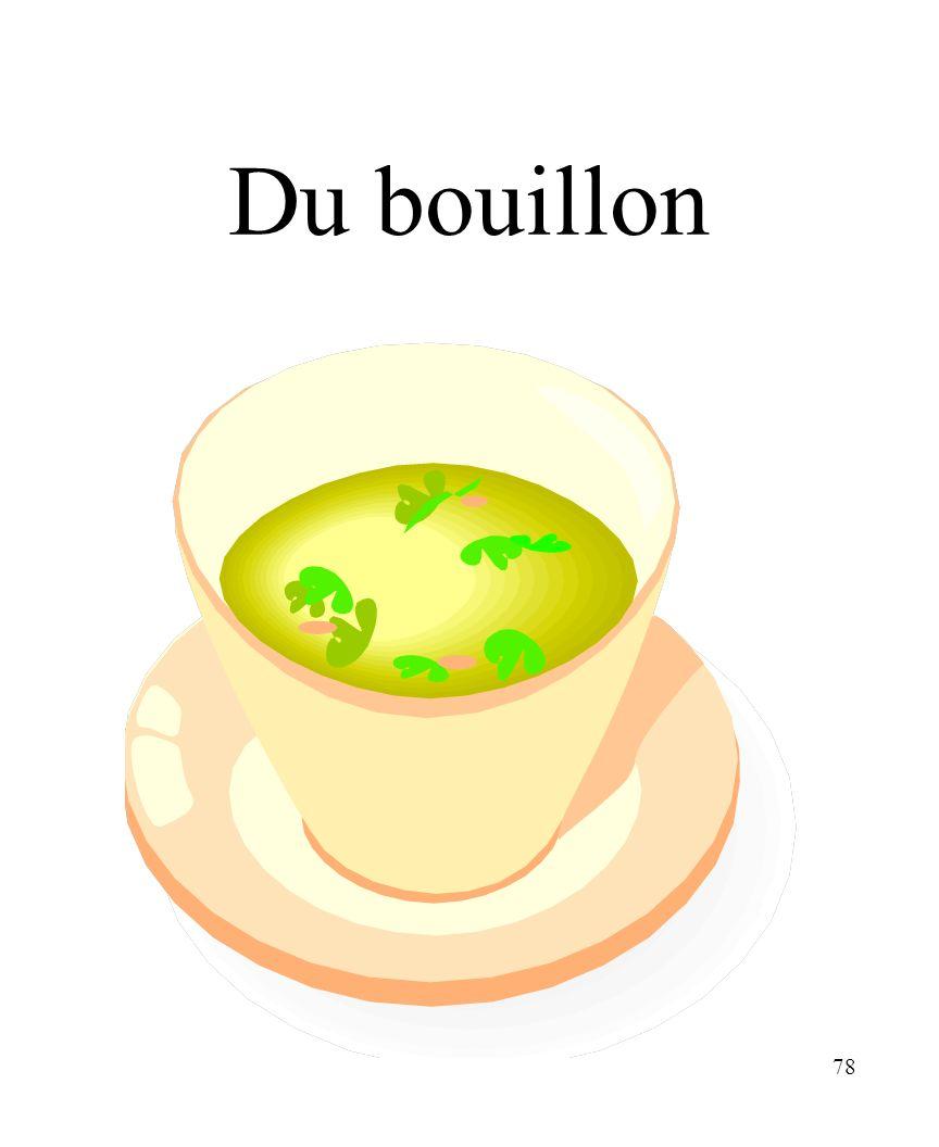 CHAPITRE 8 LES ALIMENTS 3/25/2017 Du bouillon Madame Craven